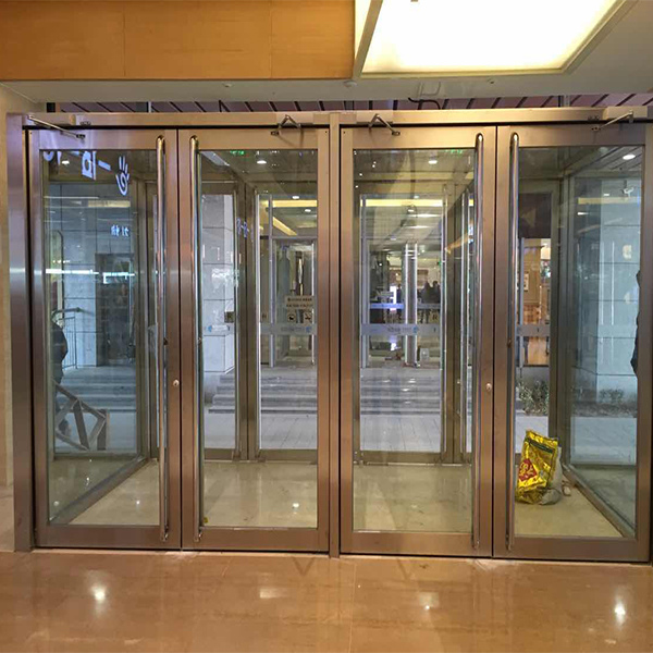 China Aluminum Door Wholesalers Glass Door Factory Meishun Stainless Steel Door Glass French Doors