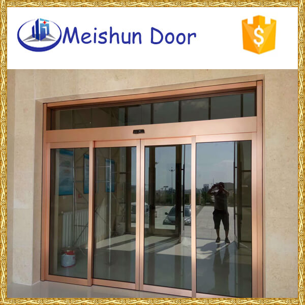 aluminum glass sliding doors