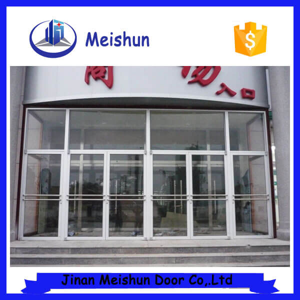 commercial aluminum glass entry doors