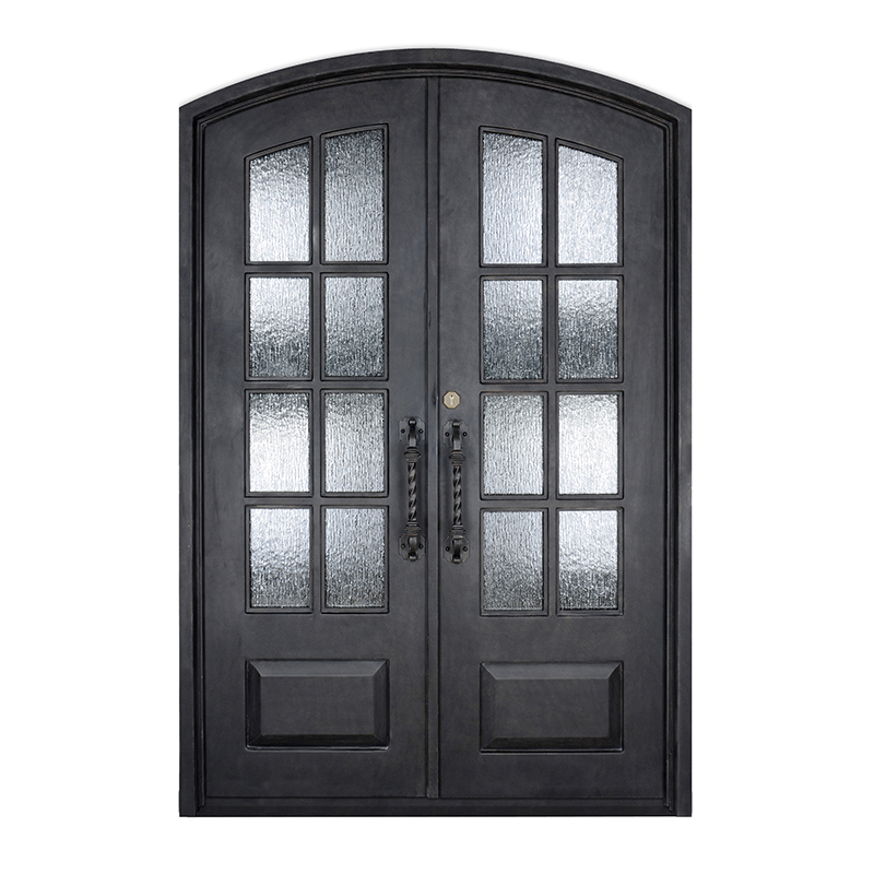 iron front doors - wrought iron doors