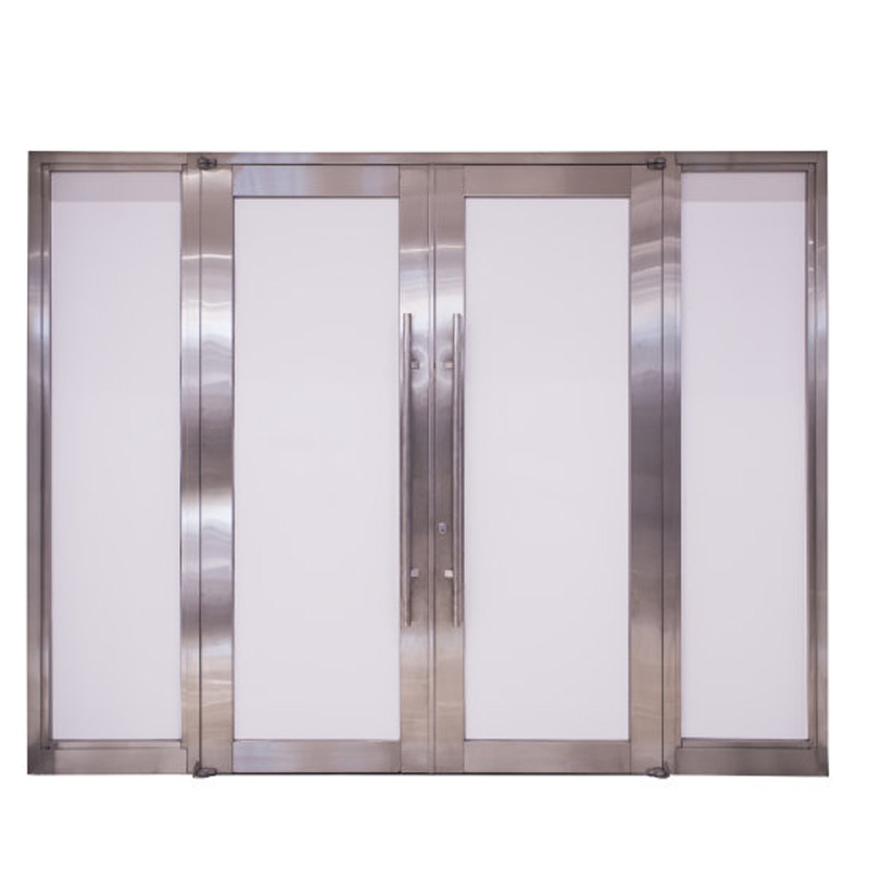 Aluminum glass door (2)