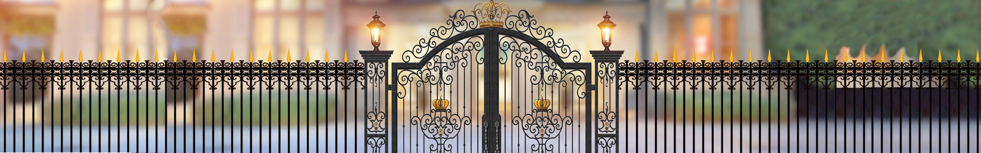 small french doors exterior - House gate