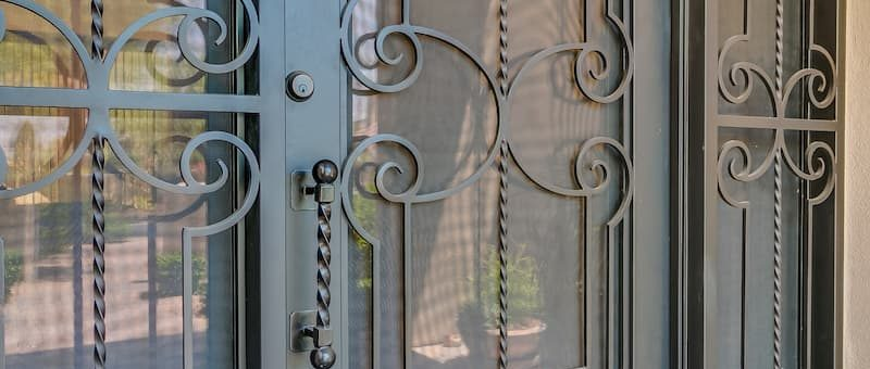 What Is Considered Standard Features for an Iron Door?